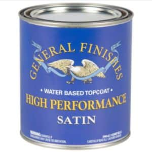 General Finishes High Performance Water Based Top Coat Satin